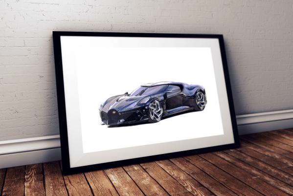 Bugatti LaVoitureNoire