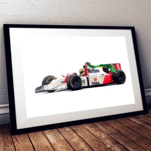 Ayrton Senna - McLaren MP4/8 - Adelaide 1993
