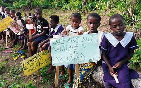 Children stigmatized as witches and Wizard in Nigeria