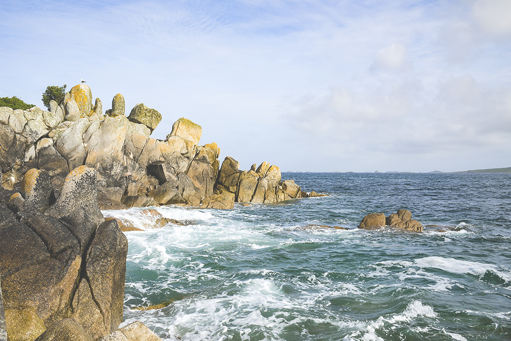 Dinosaur rocks, St Agnes, The Isles of Scilly