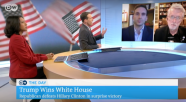Anthony Adornato appears on Germany's Deutsche Welle television network to discuss the role of fake news in the 2016 U.S. presidential election.