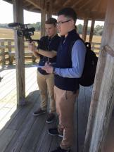 Students conduct interviews in the SC lowcountry before heading north to Columbia.