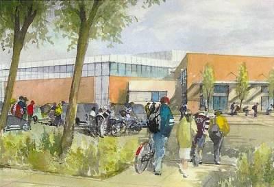Fletchers's Meadows, Parkholme Schools | watercolour