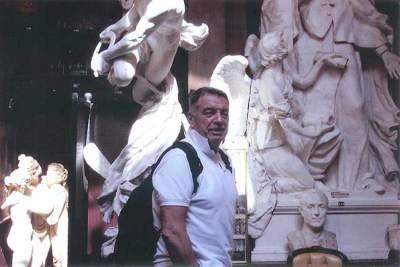 Summer 2010. Visiting the legendary studio of Antonio Canova in Rome.