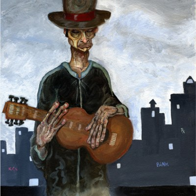 The Street Guitarist