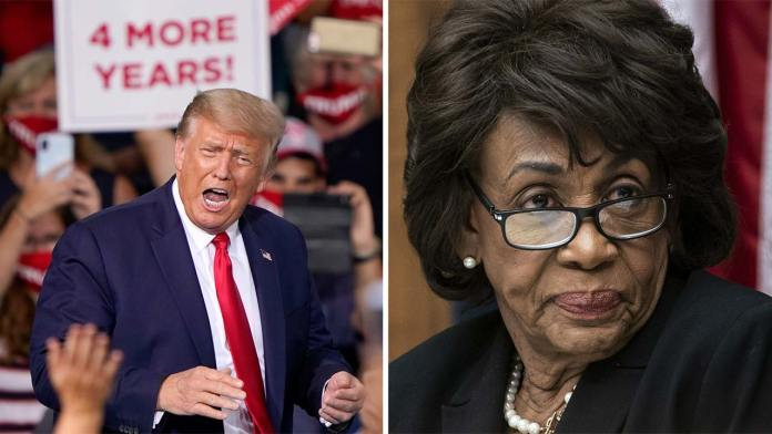 Maxine Waters Says She Will Never Forgive Black Trump Supporters