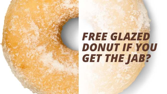 Krispy Kreme to Offer Free Donuts to Vaccine Card Holders