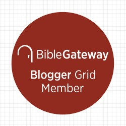 Bible Gateway Blogger Badge