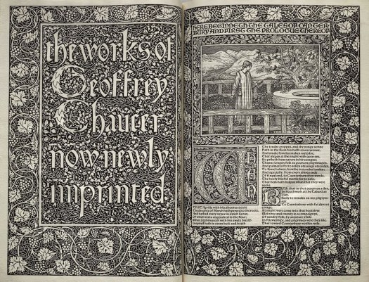 Kelmscott Press Chaucer