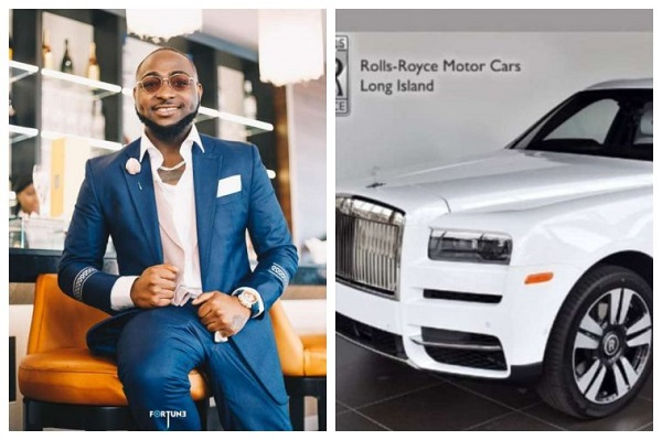 Davido-About-To-Get-His-Most-Expensive-Car-2019-Rolls-Royce-Cullinan-See-Photo