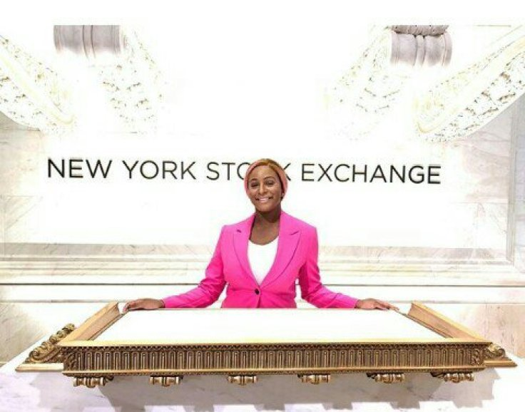 dj-cuppy-rings-opening-bell-at-new-york-stock-exchange-photo