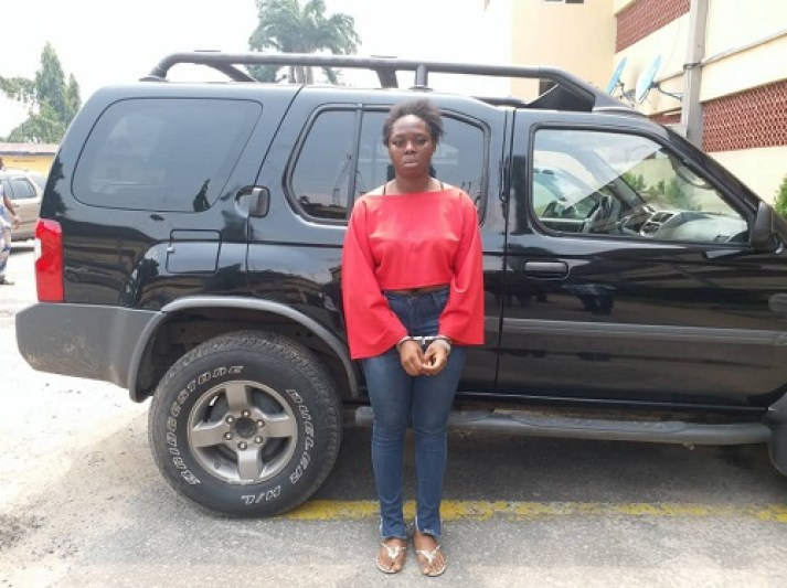 Lady arrested for stealing man's SUV, cash and phones after he invited her home for cleaning and sex 2