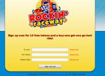 Rockin' Raceway: Big Winners Club