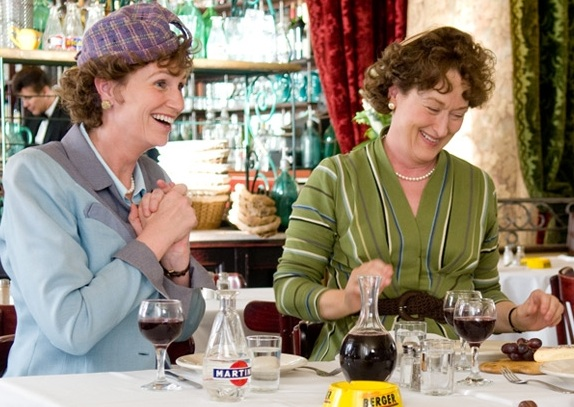 LYNCH: with Streep in Julie & Julia