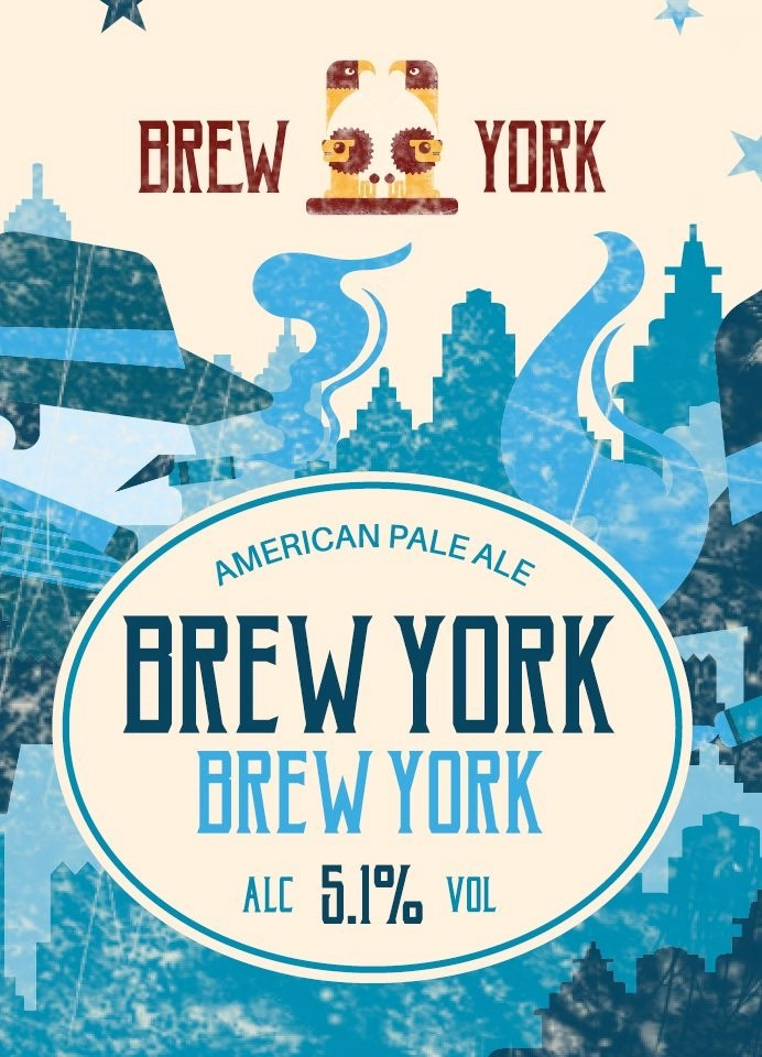 Brew York, Brew York APA label art
