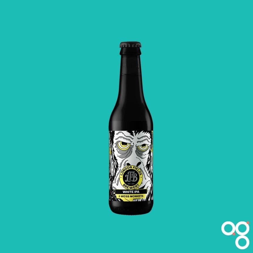 London Fields Brewery, 3 Weiss Monkeys White IPA