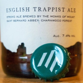 English Trappist beer.