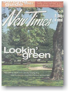 New Times cover May 24-31, 2001