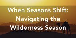 When Seasons Shift Navigating The Wilderness Season
