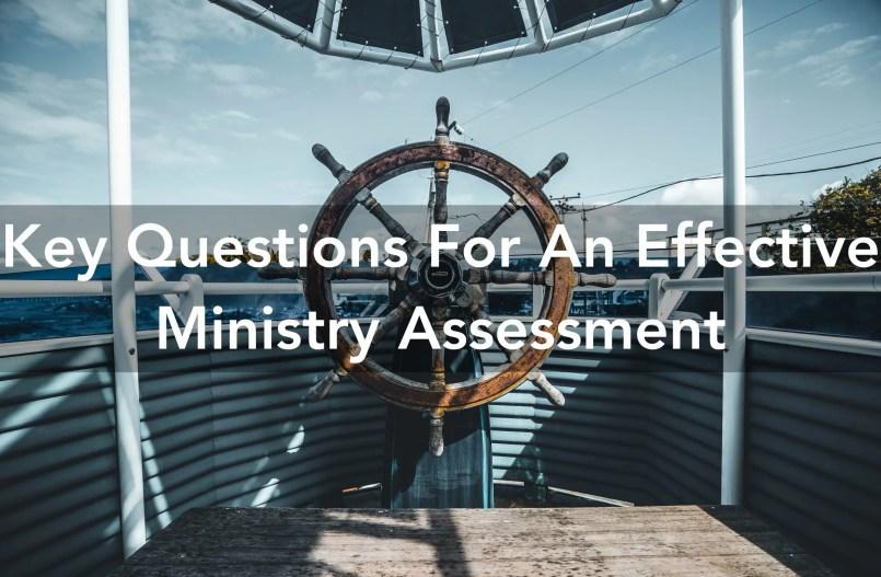 ministry assessment