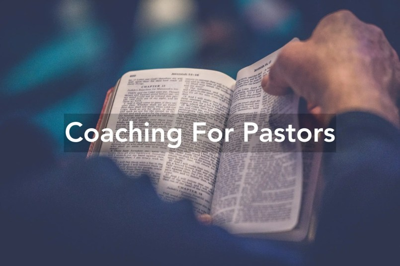 coaching for pastors