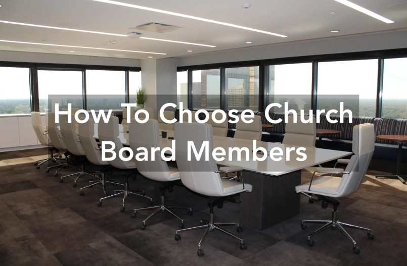 church board members