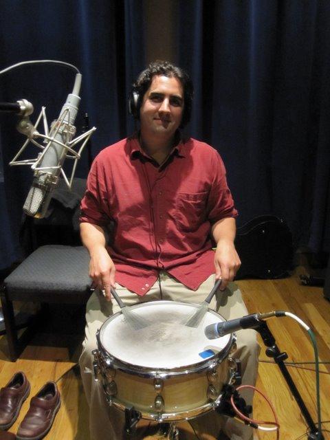 Recording w/ Mark Kreitzer Band