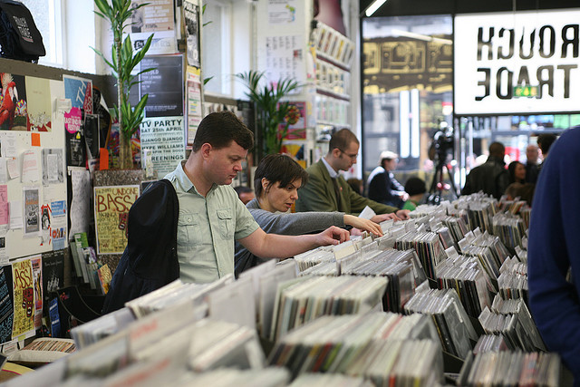 """Record Store Day @ Rough Trade East"" by Tom McShane via HIKKERS"