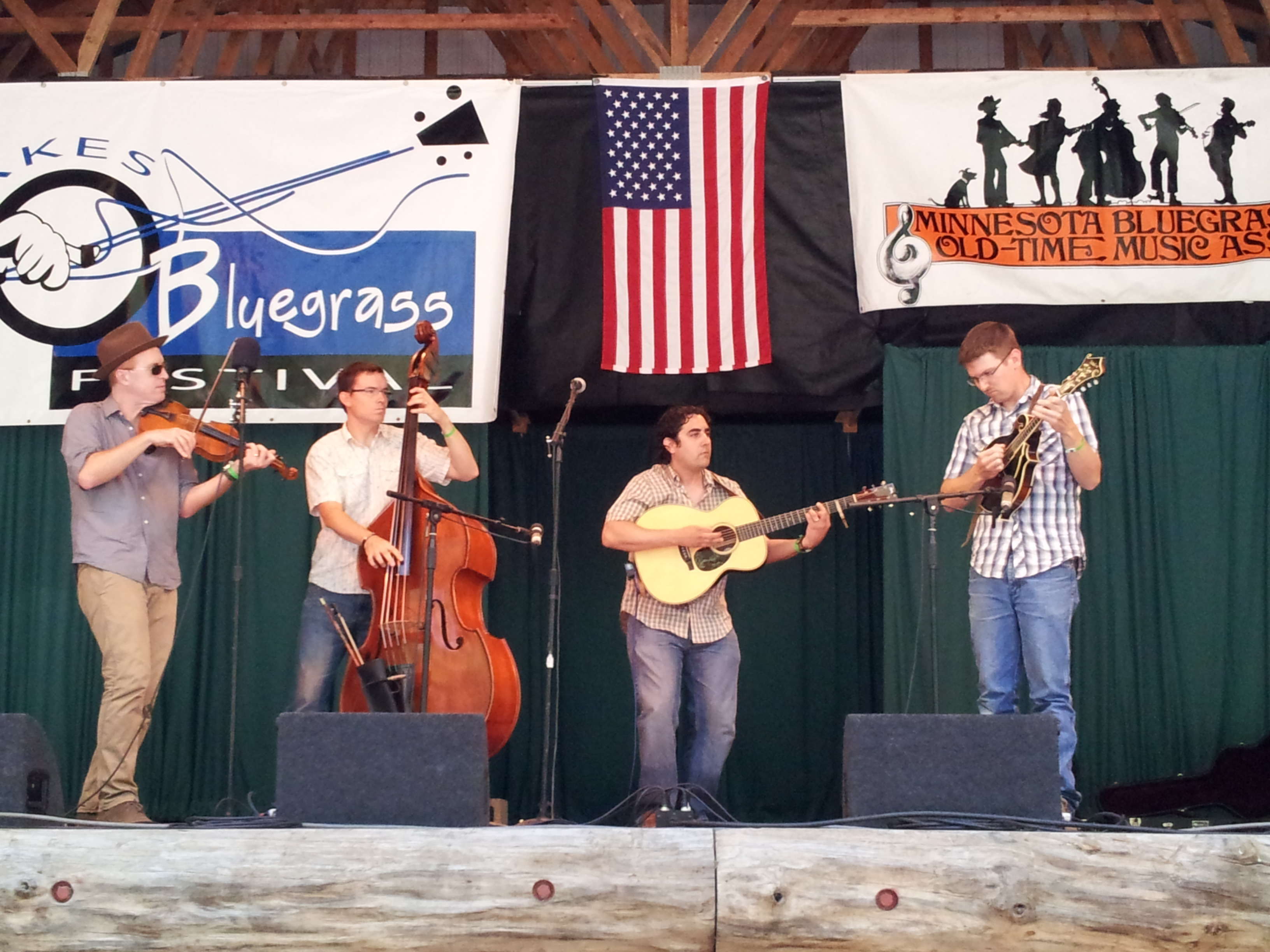 Anthony Ihrig at the Minnesota Bluegrass & Old-Time Music Festival