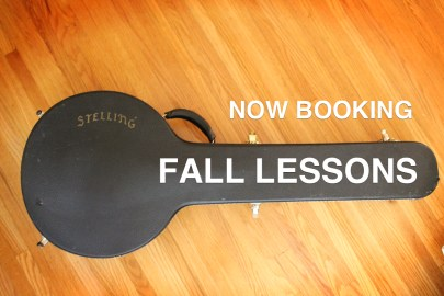 Now Booking Fall Banjo Lessons