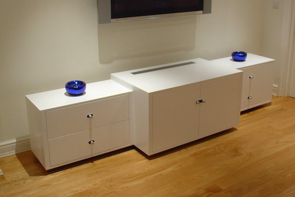 Custom Made Audio Visual Cabinet Bespoke Design