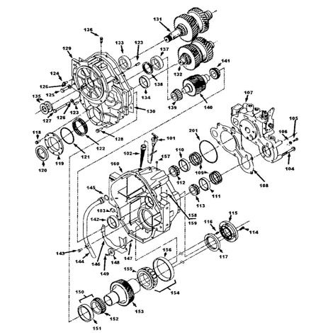 5000 Series V-Drive Parts