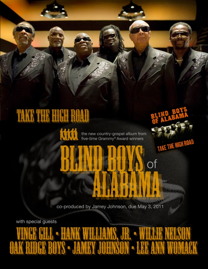 Blind Boys of Alabama - Take the High Road Poster
