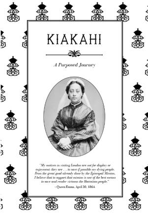 Queen Emma Summer Palace - Kiakahi Exhibit Brochure