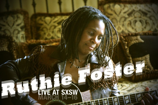 Ruthie Foster - Promotional Postcard