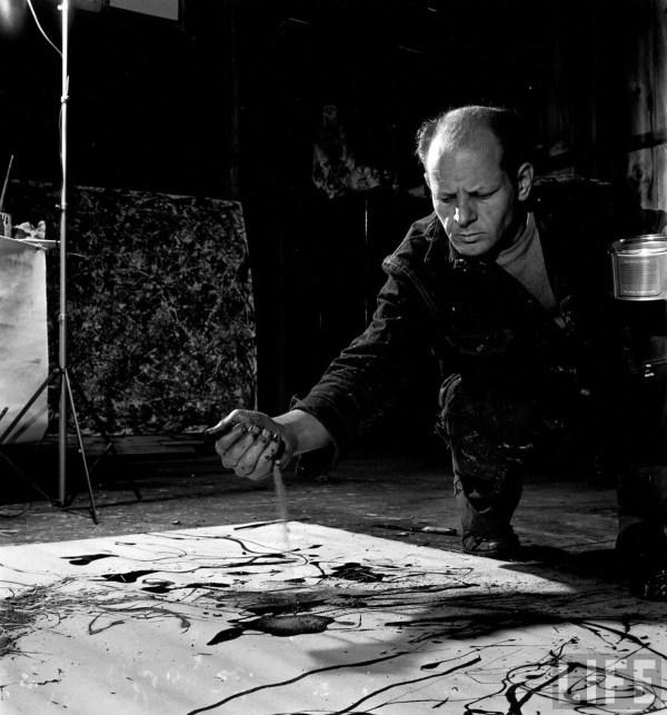 Artists In Studios #3 Jackson Pollock Anthony