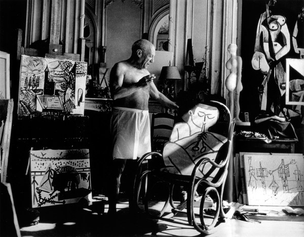 Artists In Studios #4 Pablo Picasso Anthony