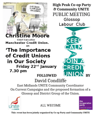 Manchester Credit Union and Unite Community Meeting