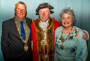 A photo of the Deputy Mayor Cllr Paul Hardy, the Mayor and Mayoress