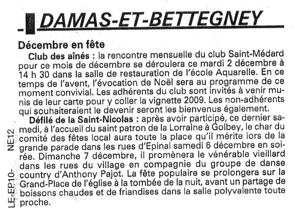 Damas et Bettegney