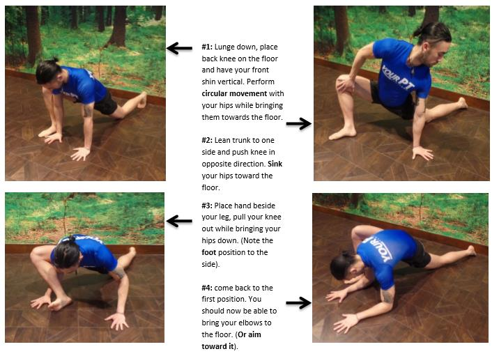 hip sequence stretch