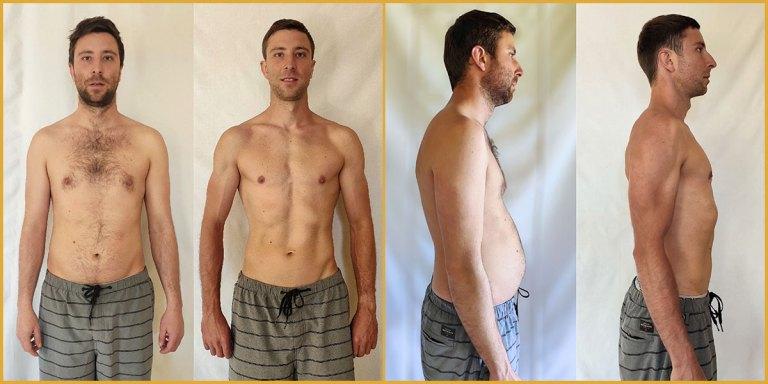 Damien Body Transformation