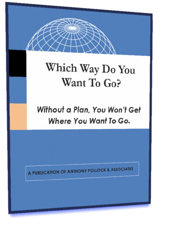 Book cover - Which way do you want to go?