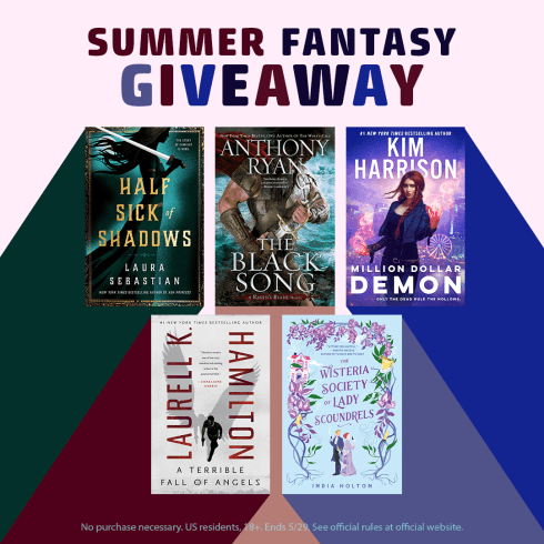 Win 'The Black Song' in Ace Books Summer Fantasy Sweepstakes