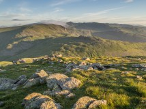 Sunrise, Helvellyn in the distance