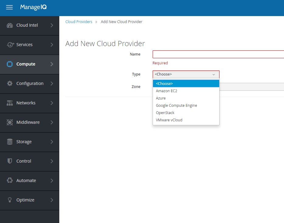 First Look: ManageIQ vCloud Director Orchestration