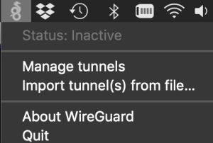 Quick Post - Installing WireGuard® Client on MacOS - VIRTUALIZATION