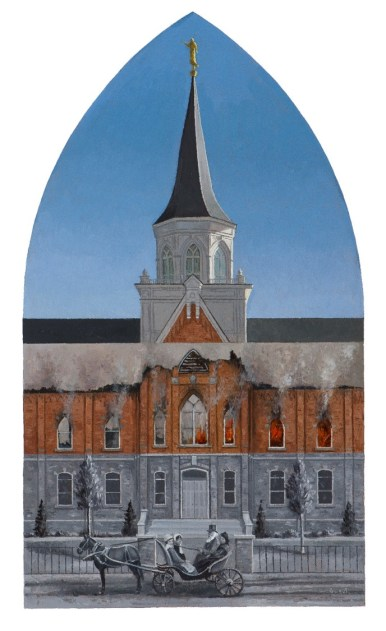 """""""Provo Tabernacle to Temple"""" 22x36 ($2,000)"""
