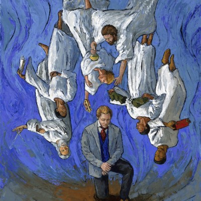 Angels Delivering Priesthood to Joseph Smith Raphael Michael Gabriel