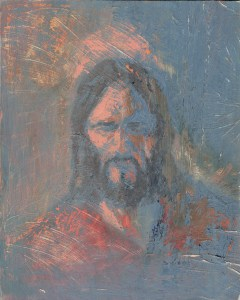 Man of Grief Jesus Christ painting by Anthony Sweat